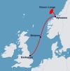 Langeled pipeline, UK.